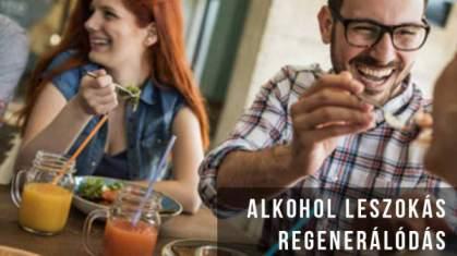 Alkohol leszokás hatásai, regenerálódás