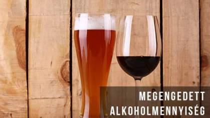 Megengedett napi alkoholfogyasztás